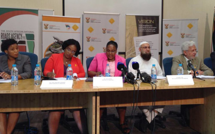 Transport Minister Dipuo Peters announced that the e-toll system will go live on 3 December. Picture: Alex Eliseev/EWN.