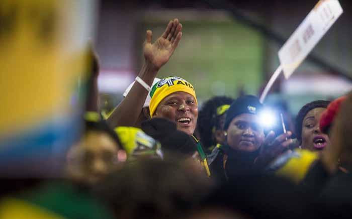 Singing and dancing ahead of proceedings at the ANC national policy conference at Nasrec on 30 June 2017. Picture: Thomas Holder/EWN.
