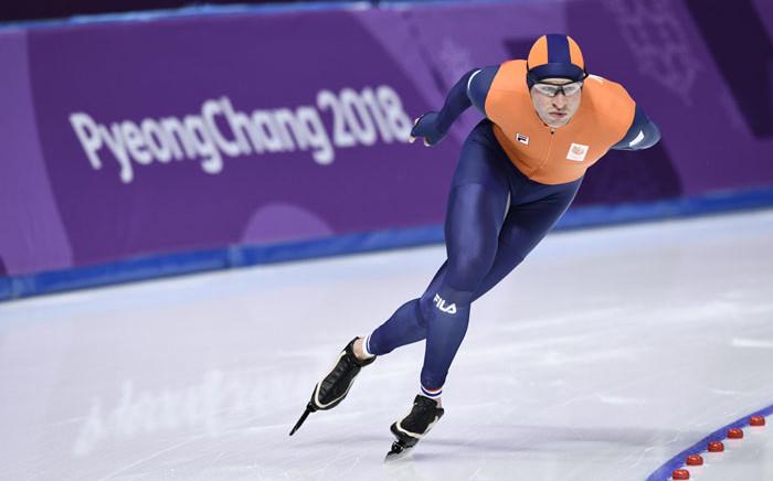 Dutch speed skater Sven Kramer. Picture: AFP
