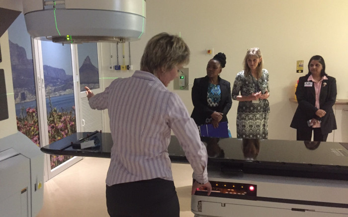 A linear accelerator (LINAC) at Groote Schuur Hospital used for radiation therapy. Picture: Kevin Brandt/EWN.