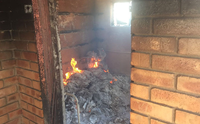 One of the more than 20 schools affected by demarcation protests in Vuwani, Limpopo. Picture: Kgothatso Mogale/EWN.
