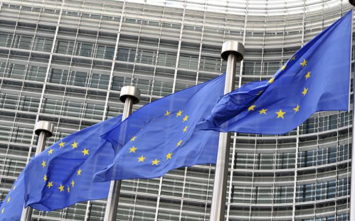 European Union flags. Picture: AFP