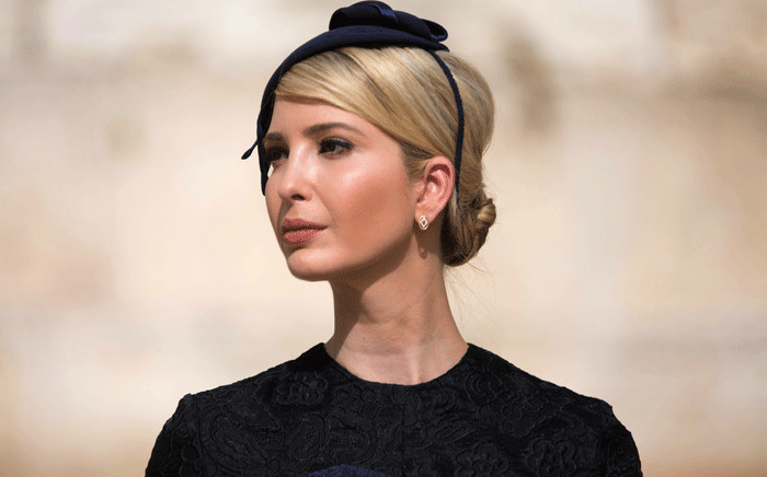 FILE: Ivanka Trump, the daughter of US President Donald Trump. Picture: AFP
