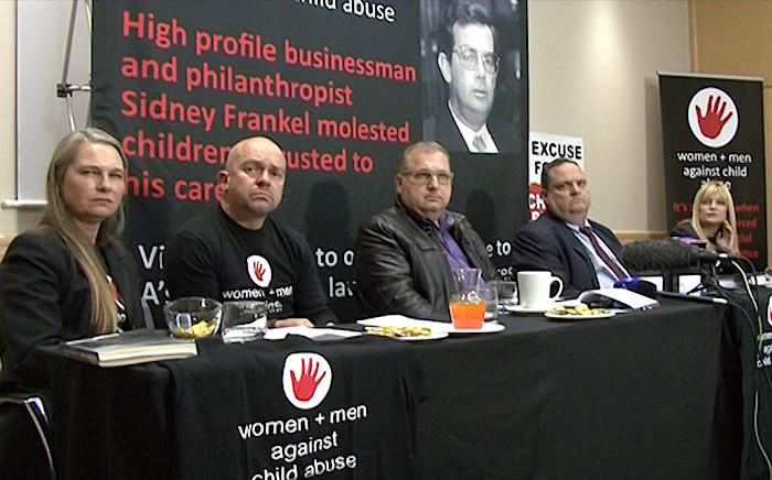 Germaine Vogel, Luke Lamprecht, Leonard Carr, Ian Levitt and Miranda Friedman at Sydney Frankel press conference. Picture: Louise McAuliffe/EWN