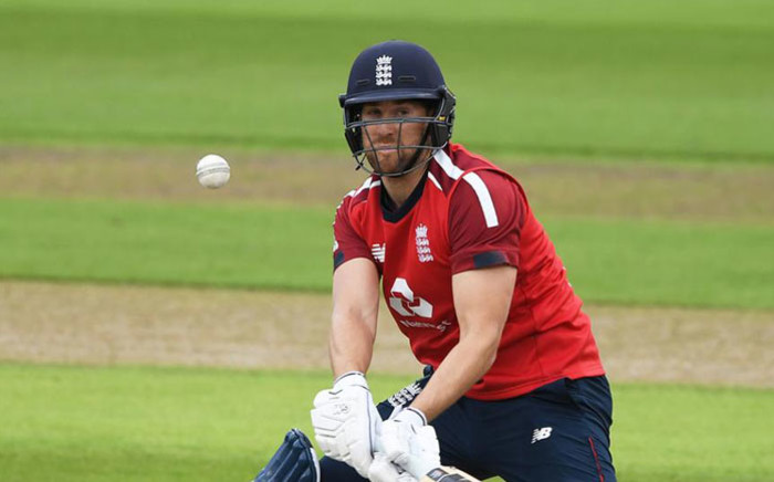 England's Dawid Malan in action during a Twenty20 International match. Picture: @englandcricket/Twitter