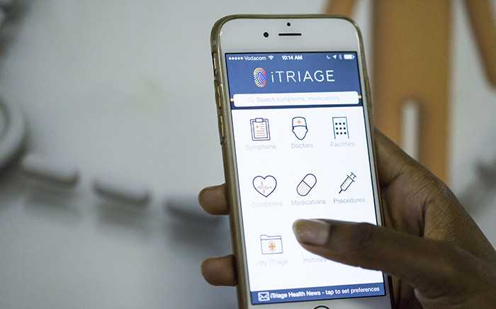 The Mobile Triage App was created by two Cape Town doctors. Picture: Thomas Holder/EWN