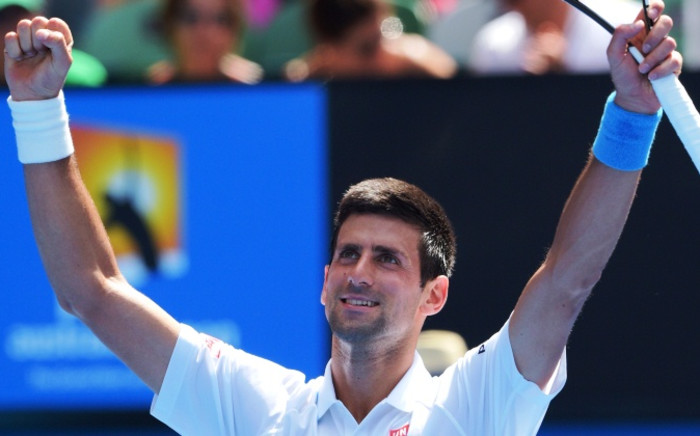 FILE: World number one Novak Djokovic. Picture: AFP.""