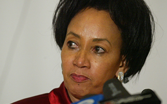 Public Service and Administration Minister Lindiwe Sisulu. Picture: SAPA