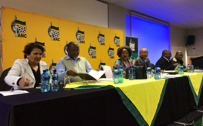 FILE: African National Congress (ANC) members at the party's National Executive Committee (NEC) meeting in Irene, Tshwane. Picture: @MYANC/Twitter