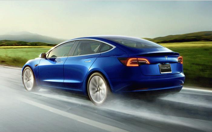 Tesla Model 3. Picture: tesla.com