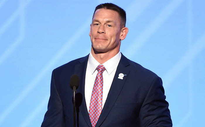 FILE: Actor and wrestler John Cena. Picture: Getty Images/AFP .