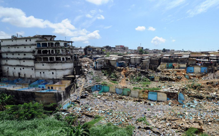 At least eight construction workers have died in Ivory's Coast's commercial capital Abidjan in a botched building demolition, a municipal official said on November 6. Picture: AFP.