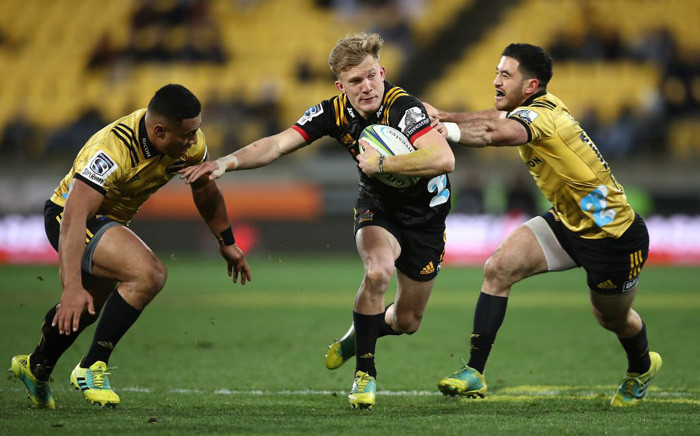 Chiefs and Hurricanes played to a 23-all draw on Friday. Picture: @SuperRugby/Twitter