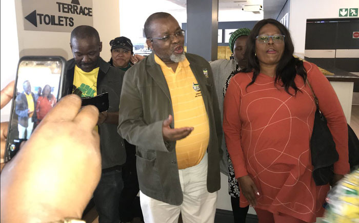 ANC's Gwede Mantashe arrives for the Western Cape PGC meeting on 26 November 2017. Picture: Kevin Brandt/EWN.