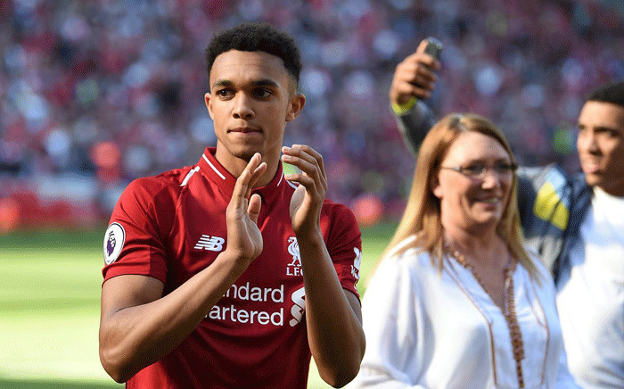 Trent Alexander-Arnold. Picture: @LFC/Twitter