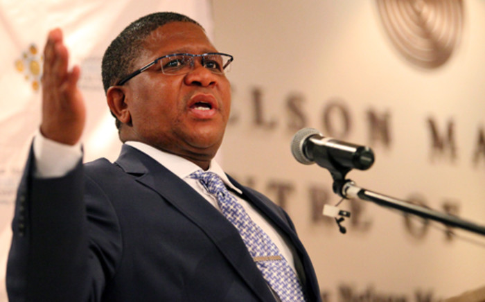 Minister of Sport and Recreation Fikile Mbalula. Picture: Lelo Mcaza/EWN