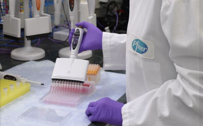 Pharmaceutical giant Pfizer is conducting a COVID-19 vaccine trial in conjunction with BioNTech. Picture: Supplied.