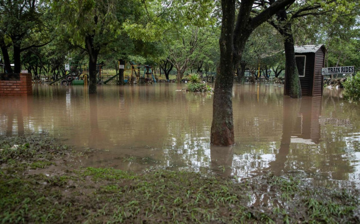 FILE: A view of a flooded area in Centurion, Gauteng. Picture: Abigail Javier/EWN
