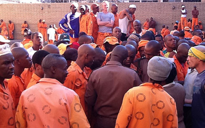 FILE: A group of prisoners. Picture: Barry Bateman/Eyewitness News
