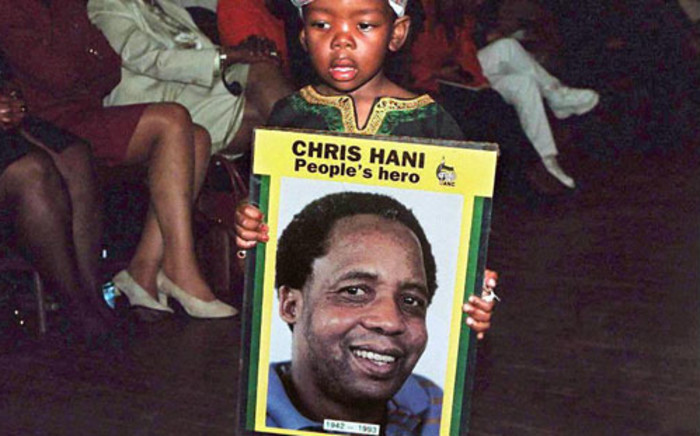 The late leader of the South African Communist Party, Chris Hani, was assassinated outside his home in Boksburg in 1993. Picture: AFP.