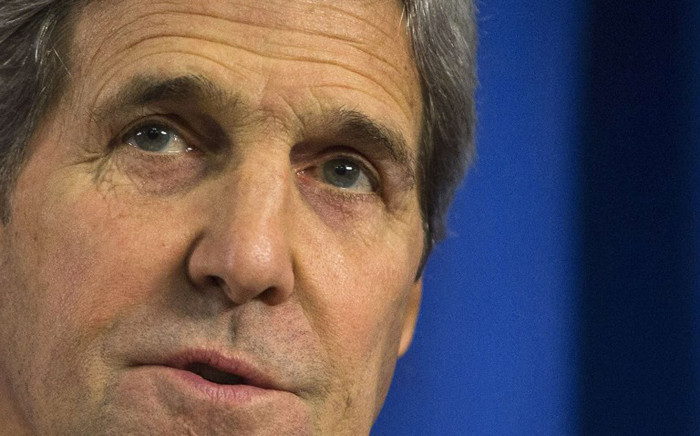 FILE: US Secretary of State John Kerry. Picture: AFP