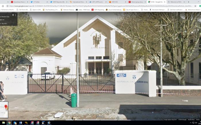A view of Rustenburg Girls' Junior School in Cape Town. Picture: Google Maps