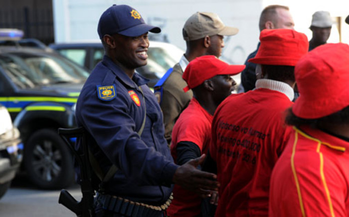 FILE. Cosatu & Outa have announced plans for a mass protest on Saturday against e-tolls. Picture: Sapa.