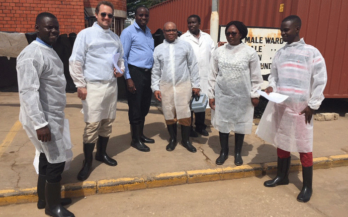 US specialists are in Lusaka to assist the health ministry after the Cholera outbreak. Picture: @usembassyzambia