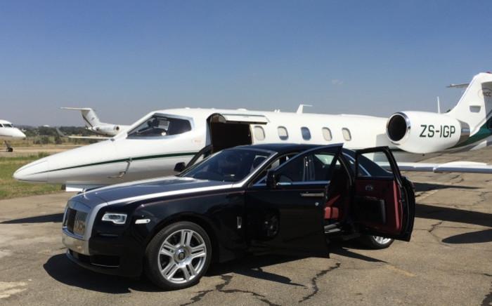 The Rolls-Royce Ghost Series II. Picture: Jacob Moshokoa/EWN.