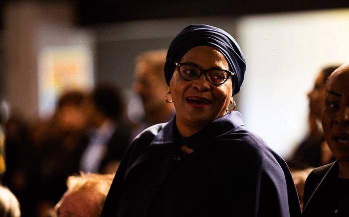 FILE: Nomvula Mokonyane at Gavin Watson's memorial service in Roodepoort, west of Johannesburg on 19 August 2019. Picture: Kayleen Morgan/EWN