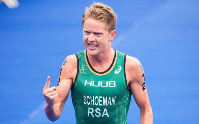 South African triathlete Henri Schoeman. Picture: @H_Schoeman/Twitter