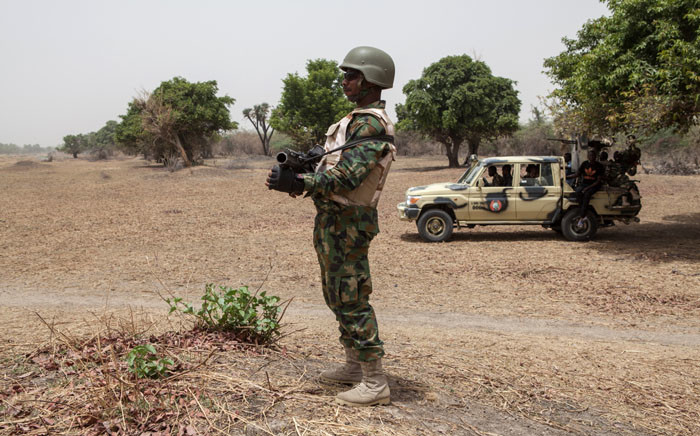 FILE: A Nigerian soldier. Picture: AFP.