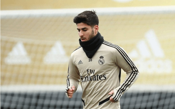 Real Madrid forward Marco Asensio. Picture: @marcoasensio10/Twitter.