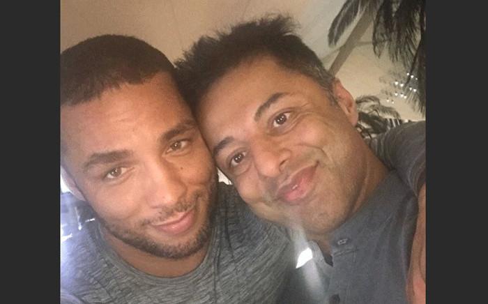 FILE: Shrien Dewani and his partner Gledison Lopez Martins. Picture: @shrien.dewani/Instagram.