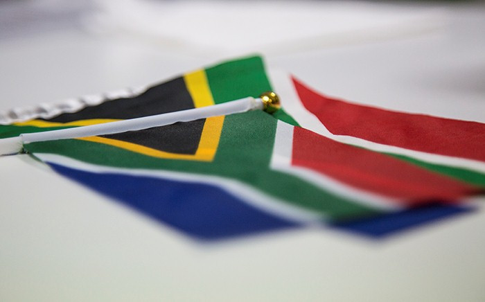 South African flag. Picture: Thomas Holder/EWN.