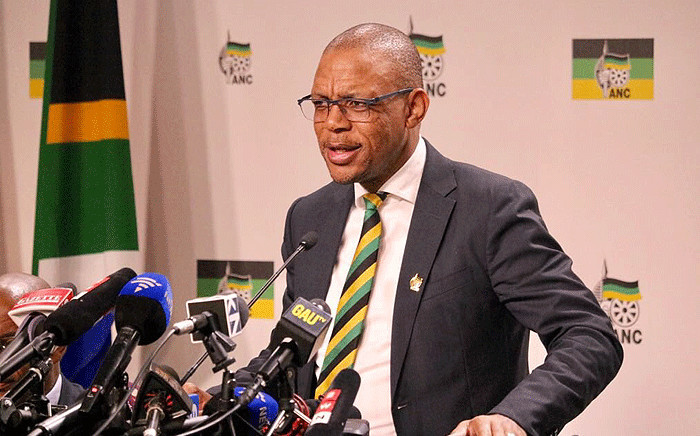 FILE: ANC's Pule Mabe. Picture: @MYANC/Twitter