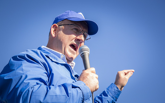 FILE: Athol Trollop addresses residents in the Port Elizabeth. Picture: Aletta Harrison/EWN.