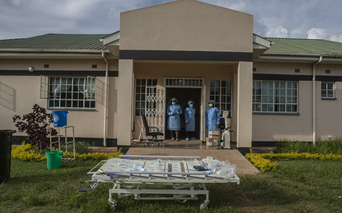 FILE: Hundreds of people seeking to get vaccinated were turned away from Malawi's main Kamuzu Central Hospital in the capital Lilongwe this week. Picture: AMOS GUMULIRA/AFP