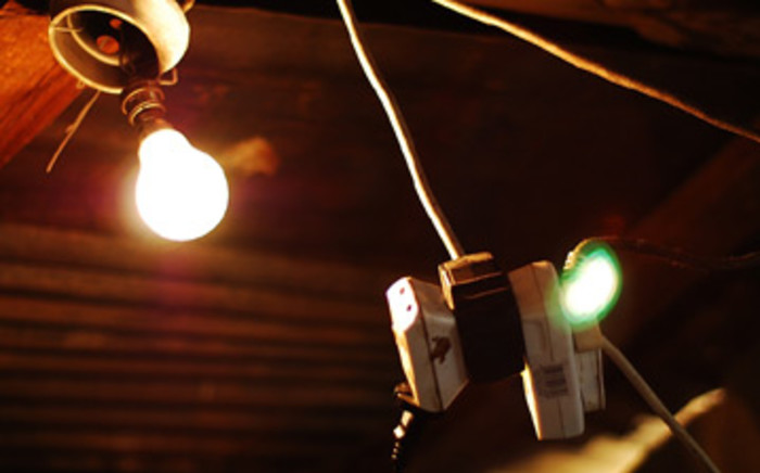 FILE: Illegal electricity connections in Alexandra township. Picture: EWN