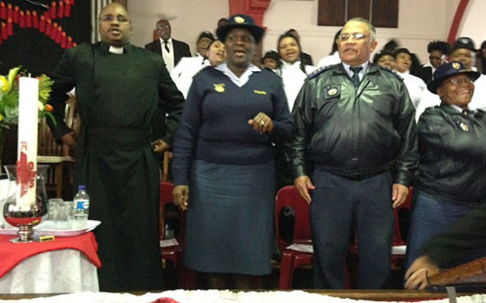 Police Commissioner Riah Phiyega attended a church service on 11 August 2013 in celebration of women in leadership in Cape Town. Picture: Lauren Isaacs/EWN