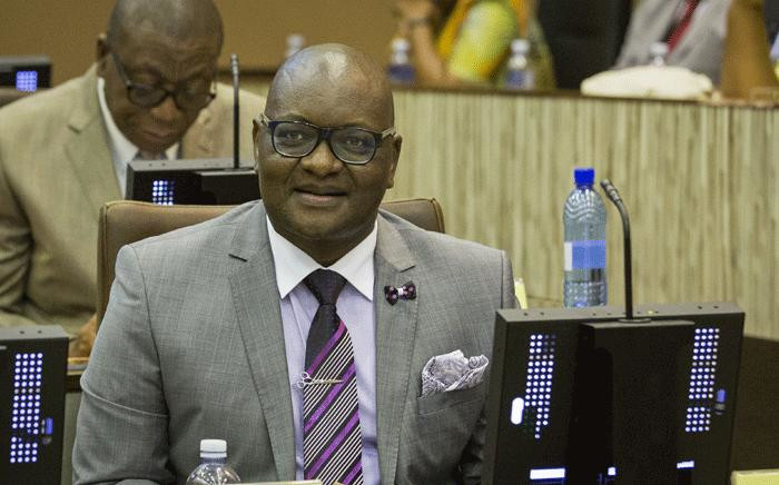 Gauteng Premier David Makhura speaking at the Gauteng Legislature on 26 February 2018.  Picture: Sethembiso Zulu/EWN