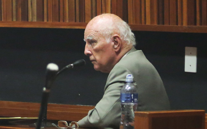 Convicted rapist Bob Hewitt. Picture: Kgothatso Mogale/EWN.