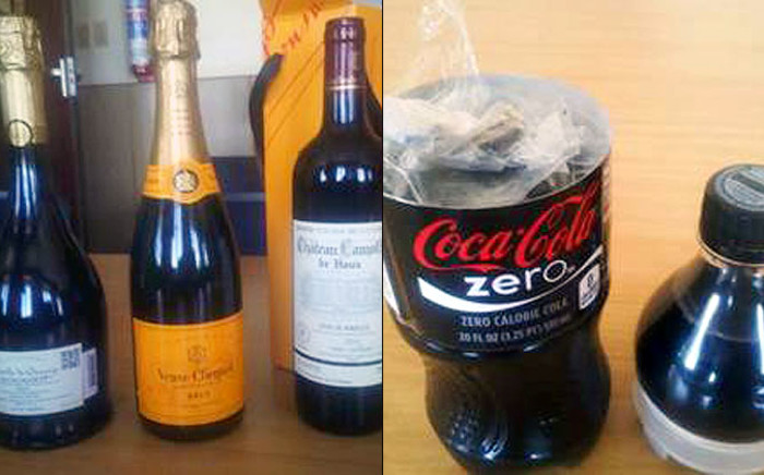 Metro police officers arrested four European nationals allegedly linked to a foreign syndicate trafficking in drugs with an estimated street value of more than R1 million on 15 January 2014. Picture: Supplied