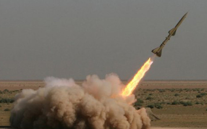 Iran successfully test fired a new short-range missile equipped with a guidance system on 4 August, 2012 it plans to install on all future missiles it builds. Picture: AFP