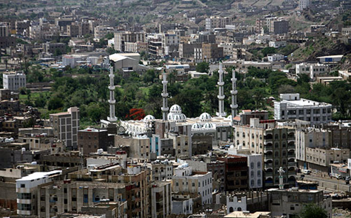 The southern city of Taiz in Yemen. Picture: AFP