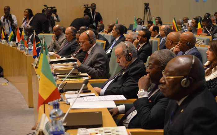 Heads of states at the African Union summit opening in Addis Ababa. Picture: African Union Facebook official page.