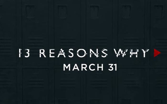 FILE: A screengrab from the trailer of Netflix series '13 Reasons Why'. Picture: YouTube.com.