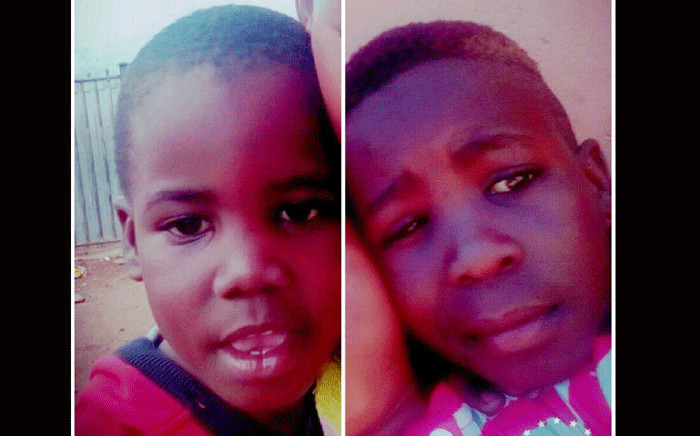 The two siblings who died in Katlehong allegedly from food poisoning. Picture: Supplied