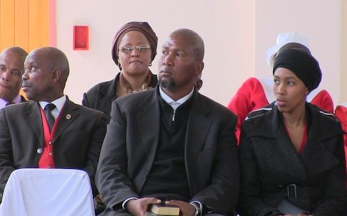 Mandla Mandela and his wife. Picture: EWN