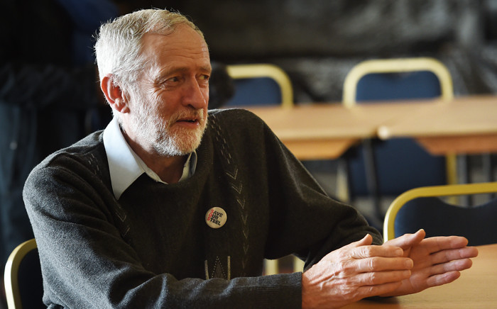 FILE: British opposition Labour Party leader Jeremy Corbyn. Picture: AFP